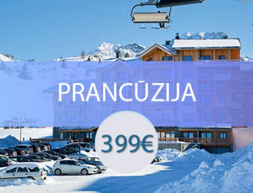 Residence Prestige Front De Neige 4* – Prancūzija