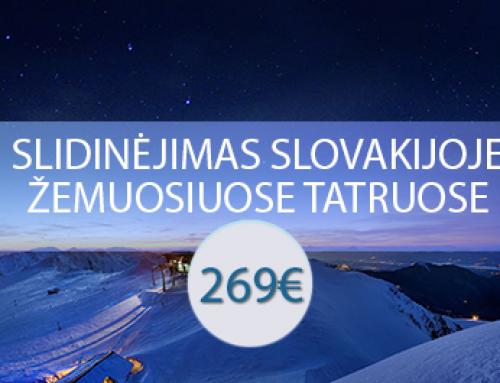 Slidinėjimas Slovakijoje – Žemuosiuose Tatruose