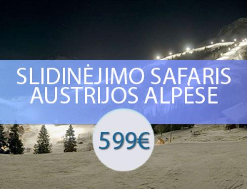 Slidinėjimo safaris Austrijos Alpėse – Skiwelt, Kicbiuhelis, Ski Juwel