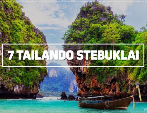7 Tailando stebuklai