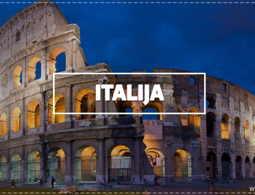 Italija – per amžius viliojantis kraštas