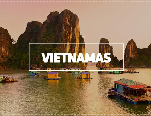 Vietnamas – skraiste pridengtas egzotiškas Pietryčių Azijos kainos ir kokybės lobis