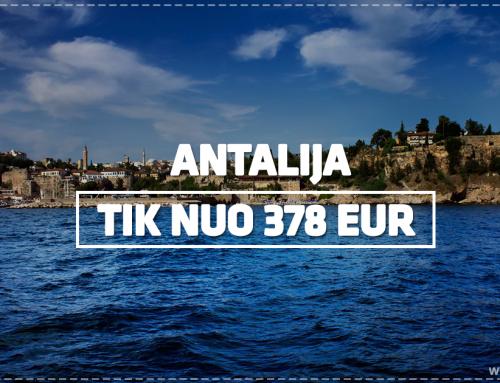 Atostogos Turkijoje tik nuo 378€