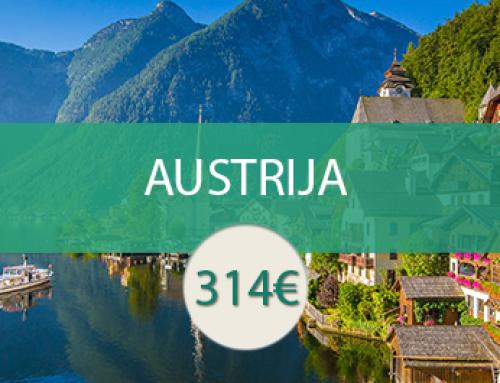 Austrija – žavingas Vachau slėnis ir magiškieji Alpių kalnai