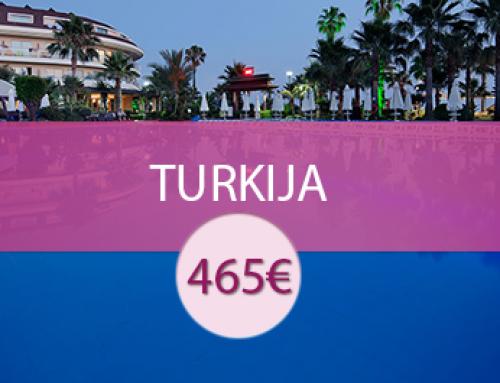 Saphir 4* – Turkija
