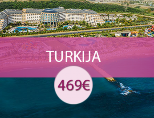 Long Beach Resort & SPA 5* – Turkija